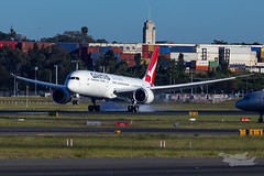 VH-ZNI QF B789 16R YSSY-8592 (A u s s i e P o m m) Tags: sydney newsouthwales australia boeing syd qantas qf b789 qf7879 sydneyairport yssy