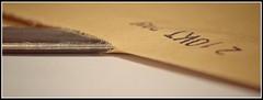 Macro Mondays - Stationery (frankvanroon) Tags: macromondays stationery paperknife letteropener envelope mm hmm