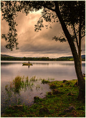 Peace Perfect Peace (cecilia467) Tags: butterstone loch dunkeld fishing peace tranquility lochs boat landscape