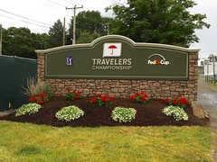 """TPC River Highlands, Preparations For The 2019 Travelers Championship (rbglasson) Tags: """"tpc river highlands"""" cromwell connecticut golf landscape apple """"iphone 6"""""""