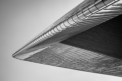 Centraal II (s.W.s.) Tags: geometry rotterdam netherlands europe architecture architectural roof centraal station urban city abstract lines nikon lightroom blackandwhite