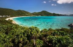 Aharen Beach (twomphotos) Tags: okinawa japan sea ocean blue culture nature tokashiki beach white sand crystal clear water paradise bestoftrips