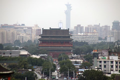 Jingshan Park View to the North and Drum Tower & Olympic Park (NTG842) Tags: beijing china jingshan park view north drum tower olympic