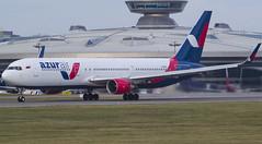 VP-BUX Azur Air Boeing 767-3Y0(ER)(WL) (Nathan_Ivanov) Tags: airplane aircraft aviation planespotting vko vnukovo uuww boeing boeing767