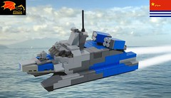 Type 22 Missile Boat (Eínon) Tags: type 22 lego frigate destroyer houbei class corvette missile boat china chinese navy