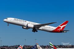 VH-ZNI QF B789 16R YSSY-8682 (A u s s i e P o m m) Tags: sydney newsouthwales australia qantas qf boeing b789 qf7879 syd yssy sydneyairport