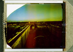 Malmö (Ondu 4x5 Pinhole) (mmartinsson) Tags: kronprinsen skyline largeformat expired malmö polaroid november2004 4x5 instantfilm iso100 pinholecamera 2016 ondu 79 sweden skånelän sverige
