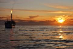 Lancaster Oil Field 17-10-2019 (Iain Maciver SY) Tags: oil oilindustry oilexploration ocean oilrig boat ship scotland sea sunset weather bluewater aokamizu