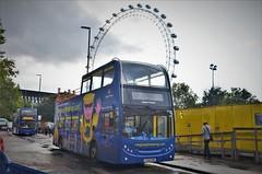 Megasightseeing 19134 'Queen Victoria' (stavioni) Tags: megabus megasightseeing 19134 queen victoria adl alexander dennis enviro 400 stagecoach open top double decker bus lk56eak