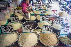 (kuuan) Tags: grains stall shop voigtländerheliarf4515mm manualfocus mf voigtländer15mm aspherical f4515mm superwideheliar apsc sonynex5n saigon hcmc vietnam street market