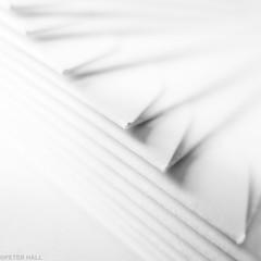 Envelopes (peterphotographic) Tags: img8066ed1cb2blowoutbwsqedwm envelopes macromondays stationery square canon g15 canong15 walthamstow eastlondon e17 london england uk britain macro camerabag highkey monochrome blackandwhite bw folded paper