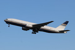 Boeing 777-212ER EC-MUA of Privilege Style. (Retro Jets) Tags: lgw b772 privilegestyle