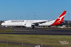 VH-ZNI QF B789 16R YSSY-8625 (A u s s i e P o m m) Tags: sydney australia newsouthwales boeing syd qantas qf b789 qf7879 sydneyairport yssy