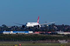 VH-ZNI QF B789 16R YSSY-8587 (A u s s i e P o m m) Tags: sydney australia newsouthwales boeing qantas qf b789 qf7879 syd sydneyairport yssy