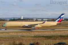F-WZGT Airbus A350 Aeroflot (@Eurospot) Tags: a350 a350900 aeroflot toulouse blagnac fwzgt airbus vqbfy