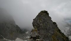 Wendelstein - In Clouds (cnmark) Tags: germany deutschland bavaria bayern alps mountain range bayrischzell brannenburg alpen mangfallgebirge wettersteinkalk rock felsen landscape clouds wolken ©allrightsreserved