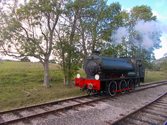 28I09I2019_IWSR_Four_Island_Classes_Gala_A2 (peter_skuce) Tags: isleofwightsteamrailway train railway hunslet austerity smallbrookjunction