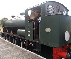 28I09I2019_IWSR_Four_Island_Classes_Gala_A3 (peter_skuce) Tags: isleofwightsteamrailway train railway hunslet austerity smallbrookjunction