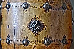 Passage clouté - Crosswalk (EmArt baudry) Tags: art artnumérique artnumériqueabstrait artsurréel abstract abstrait abstraction digitalart surrealart surréalisme surrealistic surréaliste texture pattern fer iron metal métal circles cercles clou nail emart emmanuellebaudry bois wood