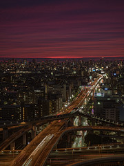 逢魔之時 (kappachen1995) Tags: osaka olympus 夜景 大阪 japan 日本 m43 関西