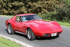 Chevrolet Corvette (1976) (Roger Wasley) Tags: sgc607v chevrolet corvette 1976 prescott classic car speed hill climb vehicle