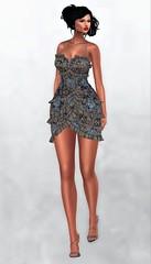 :::WILD:::Fashion@On9 october 2019 (Geoffrey Firehawk MR V♛ Belgium 2014) Tags: sl secondlife event on9 dress hud mesh maitreya belleza slink beauty attitude avatar shoes heels footwear wildfashion fashion fashionpixel femalewear femaleclothing female femme mujer chica gorgeous model modeling mode mannequin
