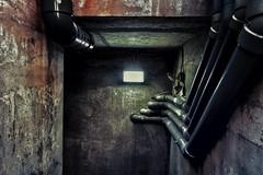 leading pipes (-liyen-) Tags: activeassignmentweekly industrial pipes grainy postapocalyptic interior concrete fujixt2 urban bestofweek1 bestofweek2 bestofweek3 bestofweek4