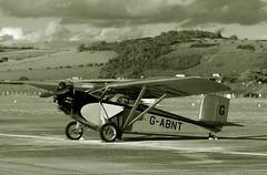 Spoken for (crusader752) Tags: civilian coupe cac1 gabnt shorehamairport bw blackwhite mono monochrome monoplane