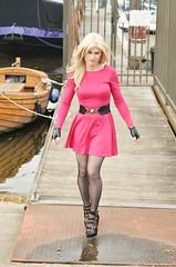 Lack of Kink! (Miss Nina Jay) Tags: tights heels