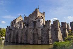 Castillo en Gante (jtapiao) Tags: europa belgica gante travel canon