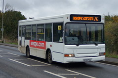 Photo of Matrix: Trustybus (ex Uno 105) Dennis Dart/Alexander Pointer KC03PGU Stansted Road Stansted Mountfitchet 21/10/19