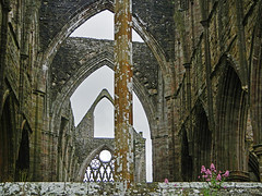 A series of arches in Tintern Abbey ruins in Wales (albatz) Tags: arches tintern abbey ruins wales