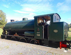 28I09I2019_IWSR_Four_Island_Classes_Gala_A5 (peter_skuce) Tags: isleofwightsteamrailway train railway hunslet austerity wootton