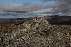 Summit of Carn a'Gheoidh (steve_whitmarsh) Tags: aberdeenshire scotland scottishhighlands highlands cairngorms landscape carnagheoidh topic