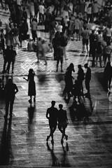 Stadion Śląski / Silesian Stadium - Chorzów 2019 (Tu i tam fotografia) Tags: people ludzie dark człowiek man stadium stadion polska poland couple para pair silhouette sylwetka streetphoto candid streetphotography fotografiauliczna mood moody tłum crowd mob aloneinthecrowd stadionśląski silesianstadium shadows shadow cienie cień chorzów blackandwhite noiretblanc enblancoynegro inbiancoenero bw monochrome czerń biel czerńibiel noir czarnobiałe blancoynegro biancoenero