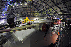 "US Army Air Force B-17 Bomber (Infinity & Beyond Photography: Kev Cook) Tags: ""royal air force"" museum raf hendon london aircraft wwii warbirds photos planes us army force boeing b17 bomber 8mm fisheye"