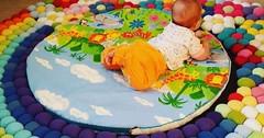 طريقة صنع مفرش ارضي للاطفال على شكل حديقة روعة (ezo-handmade) Tags: اشغال يدوية افكار الطرز و الخياطة خياطة مفارش