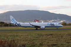 Flybe G-FBEK BHD 21/10/19 (ethana23) Tags: planes planespotting aviation avgeek aeroplane aircraft airplane flybe embraer e195 195