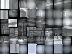 Cubismo (magellano) Tags: cubismo giappone japan riflesso reflection facciata facade tenda courtain finestra window vetro glass