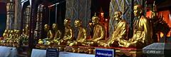Wat Phra That Hariphunchai (ol'pete) Tags: ประเทศไทย thailand เมืองไทย watphrathathariphunchai วัดพระธาตุหริภุญชัย wat temple วัด รูปปั้น statues ลำพูน lamphun พุทธกาลนิชน buddhist