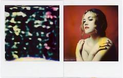 Ava in the noise (Urizen Freaza) Tags: diptych polaroid polaroidoriginals po impossible impossibleproject instantfilm roidweek polaroidweek roidweek2019 polaroidweek2019 ava