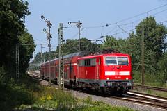 Leschede (Nils Wieske) Tags: baureihe 111 db regio bahn eisenbahn formsignal train railway railroad zug züge niedersachsen