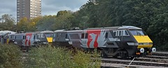 Record Shot of the Europhoenix Class 91s (garstangpost.t21) Tags: 91120 91117 europhoenix leicester leicestershire