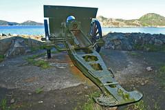 H.K.B. 25./978 Hausvik mit 10,5 cm K 331(f) (Nils Mosberg) Tags: hausvikodden atlanticwall 105cmk331f atlantikwall hkb25978hausvik