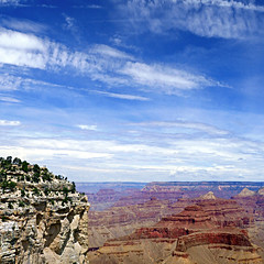 Grand Canyon, Arizona, USA (pom'.) Tags: panasonicdmctz101 grandcanyon arizona usa sky clouds canyon
