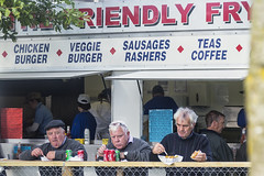 The Friendly Fry (Frank Fullard) Tags: frankfullard fullard candid street portyrait trio gents men fry friendly eating food coke minerals horsefair hunger color colour irish ireland lol fun galway ballinasloe popular cuisine choice curry chips frenchfries burger beef chicken