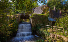Cosy Cottage. (Ian Emerson (Thanks for all the comments and faves) Tags: corfecastle cottage water drain autumnal canon6d outdoor countryside england sunlight dorset quintessential omot