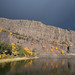Beautiful light on a syncline