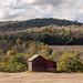 Appalachian barn in a Kentucky hollow
