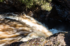 Waterfall, Cascade River State Park 10/20/19 (Sharon Mollerus) Tags: lutsen cascaderiverstatepark waterfall fall minnesota mn c19